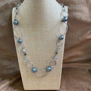 COPY - Lia Sophia (Alpine) silver necklace